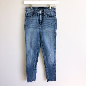 KanCan | Women's Ankle Skinny Denim Jeans Mid Rise